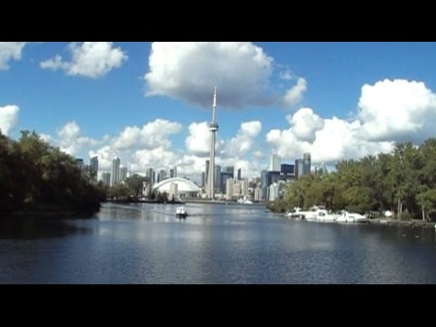 Mariposa Cruises Tour of the Toronto Islands on Lake Ontario with Tour Guide, Canada