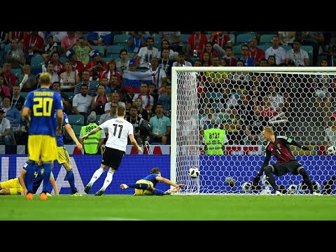 ألمانيا تفوز على السويد بهدفين لهدف في الثواني الاخيرة وتفلت من وداع المونديال مبكراً…  - 23:21-2018 / 6 / 23