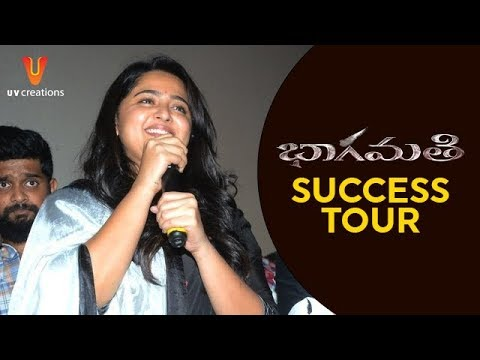 Bhaagamathie Movie Team Success Tour | Anushka Shetty | Unni Mukundan | Thaman S | UV Creations