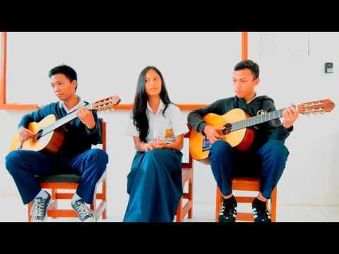 Ayat-ayat Cinta Cover by Evira (Kreatifitas SMPN 10 Bogor) follow IG : @wangsamulya