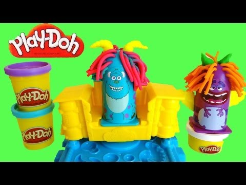 Play Doh Monsters University Scare Chair Barber Hair Pixar Inc You