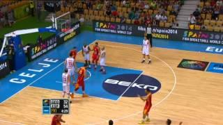 Highlights Georgia-Spain EuroBasket 2013