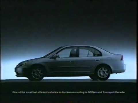 Honda Civic Commercial >> Honda Civic 2002 Commercial