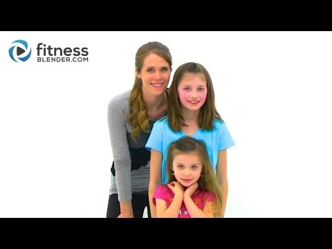 Fitness Blender Kids Workout - 25 Minute Fun Workout For Kids At Home