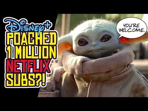 Disney Plus Poached Over 1 MILLION Netflix Subscribers?! from YouTube · Duration:  13 minutes 2 seconds