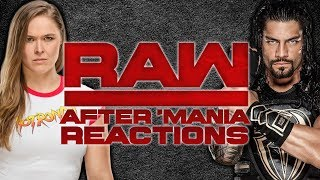 WWE Raw After WrestleMania: Live Reactions