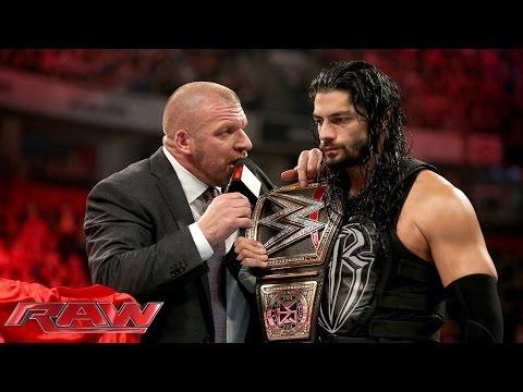 Triple H Bietet Roman Reigns An, Sich Zu Verkaufen: Raw – 9. November 2015
