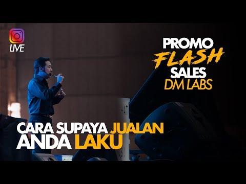 Cara Supaya Jualan Anda Laku | PROMO Flash Sales DM Labs