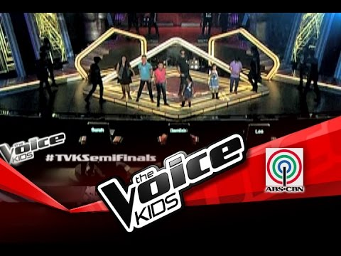 "The Voice Kids Philippines Semi Finals ""Narda"" by Top 6 Kids & Kamikazee"