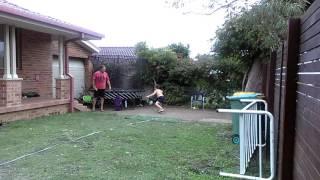 Shot Put - 7 Year Old  Sensation Oscar Furey 2015