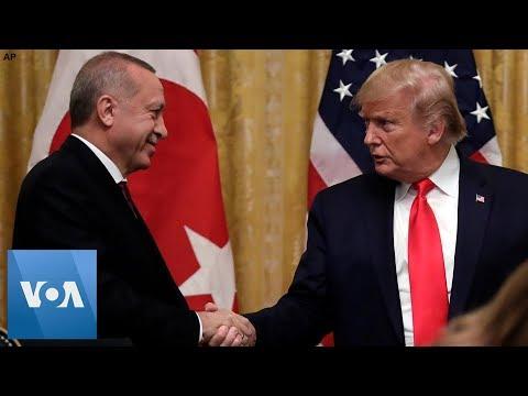 Trump Talks About al-Baghdadi Raid During Erdogan's Visit to Washington