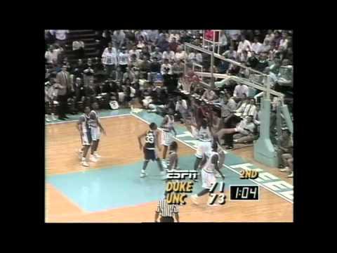 # 7: February 5, 1992: #9 North Carolina 75, #1 Duke 73