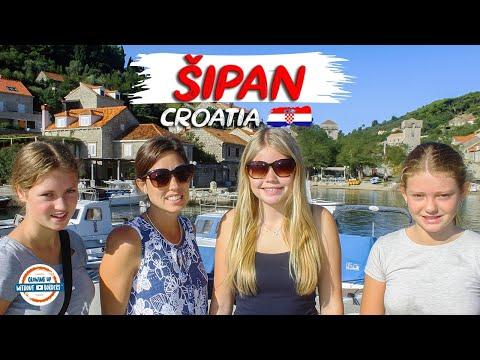 Dubrovnik Islands Getaway - Sipan Croatia and the Enchanting Villa Ella | 98 Countries with 3 Kids