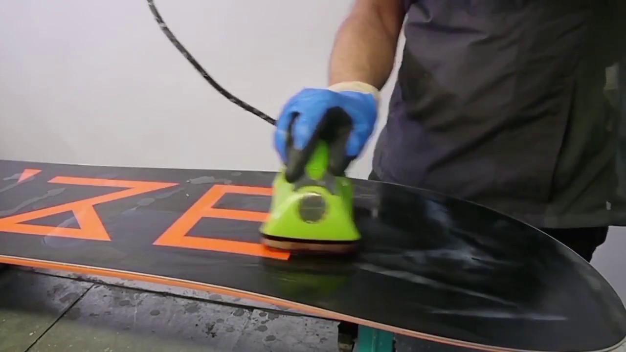 comment faire un fartage fin de saison d 39 un snowboard youtube. Black Bedroom Furniture Sets. Home Design Ideas