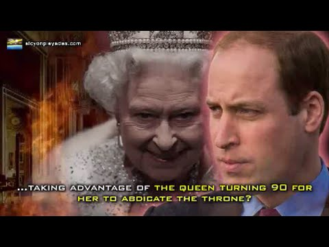 News just out !!! Antichrist Prince William to take the throne of England