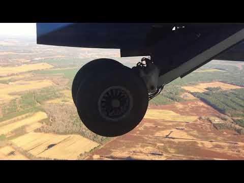 Last scheduled American Eagle Dash 8-100 flight