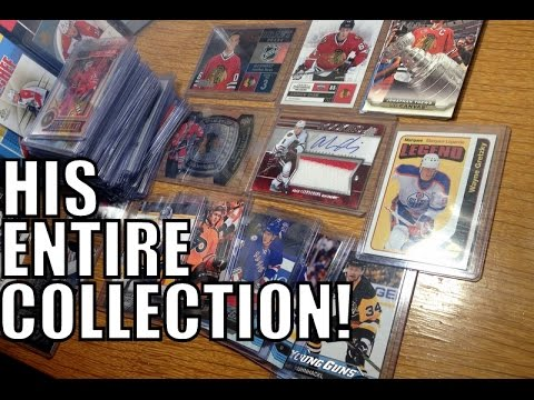 Hockey Card Pick-ups! - I Bought zeeree23's ENTIRE Collection! Toews, Kane, Gretzky +More!