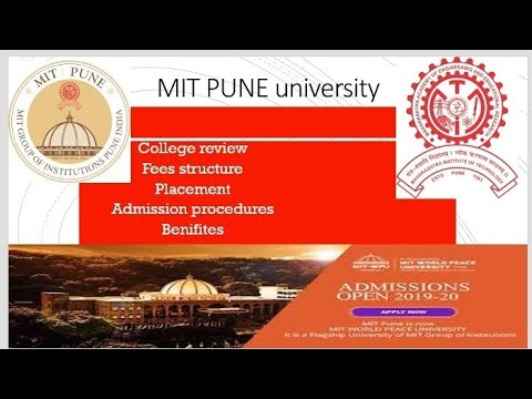 Admission @ Mit Pune #placement #good Or Bad