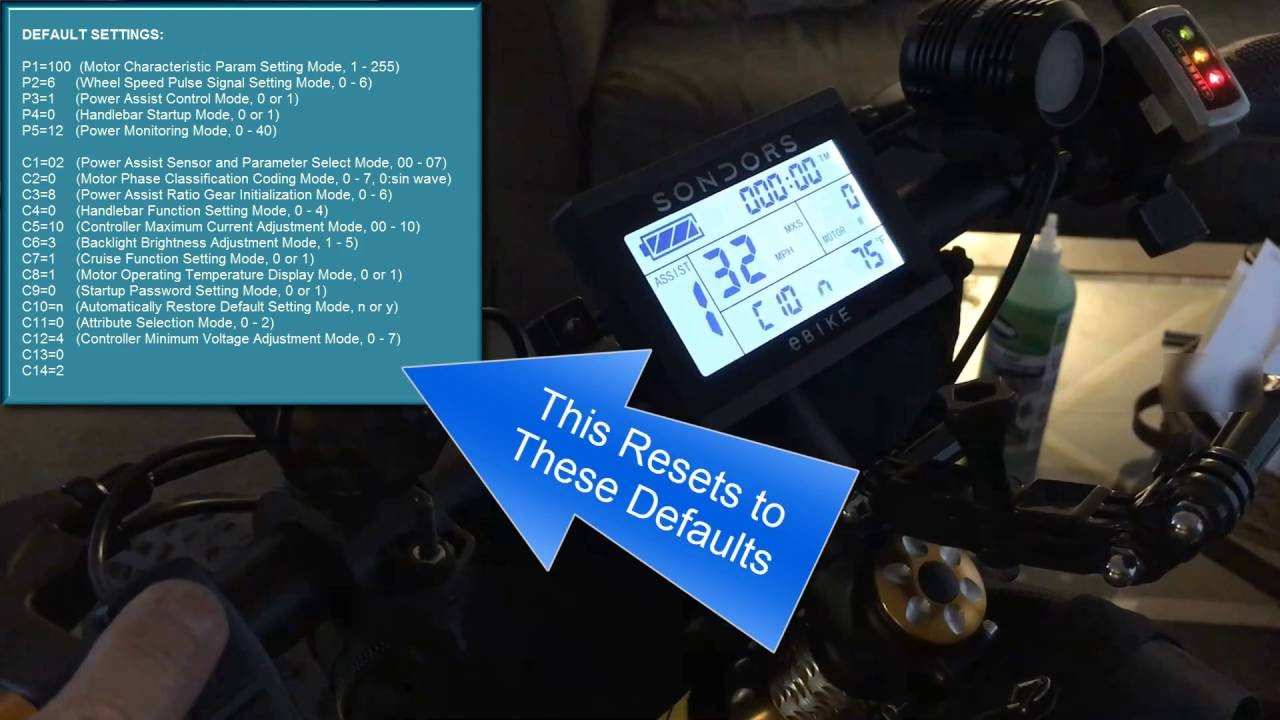 Resultado de imagen de ebike LCD configuration