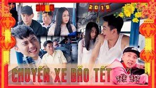 Hài Tết 2019 : Chuyến Xe Bão Tết - Ginô Tống, Kim Chi