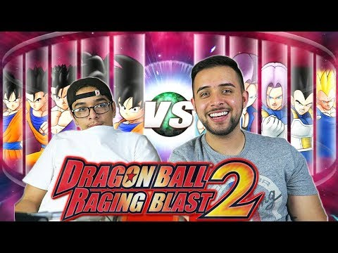 Dragon Ball Z Raging Blast 2 - Goku's Family Vs. Vegeta's Family (What If Battle)