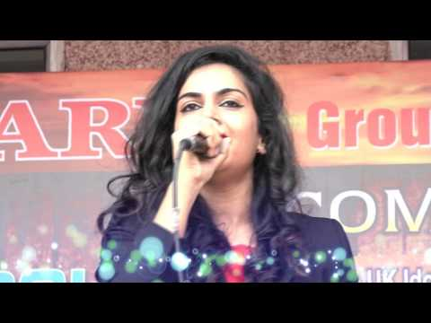 Harshi Mad performing in Arya Group of colleges