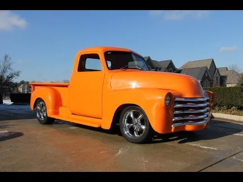 1950 Chevy 3100 Truck Test Drive Classic Muscle Car For
