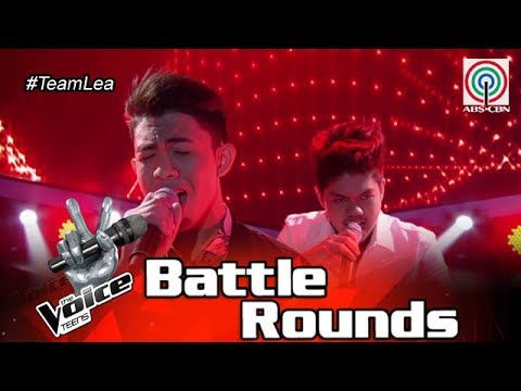 The Voice Teens Philippines Battle Round: Clark vs. Chan - In The End