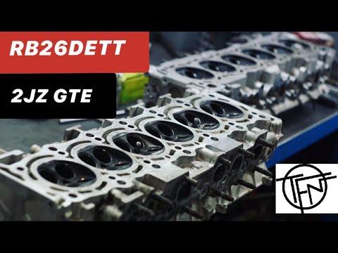 Портинг 2JZ GTE и RB26DETT!