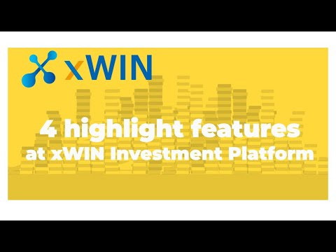 4 highlight features at xWIN Investment Platform (English) #Defi #Binance #Crypto #CryptoTrader