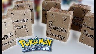 6000 MYSTERY Pokemon Booster Packs