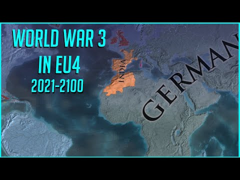 WW3 in EU4 2021 - Always War mod Extended Timeline Europa Universalis IV Timelapse  