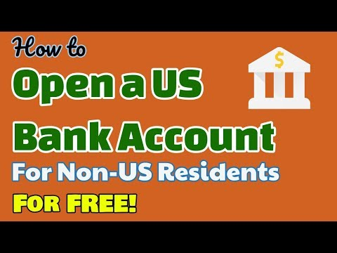 Receive A Free US Bank Account For Non-US Residents