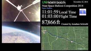 NSBC 2014 High Altitude Balloon Launch