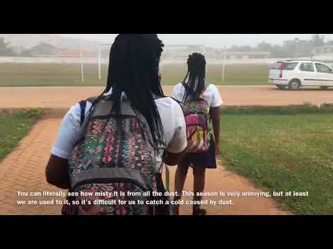 Day in the Life of a Ghanaian Student || SCHOOL VLOG