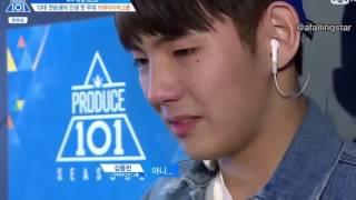 [ENG] Kim Dongbin Performance | Produce 101 Ep 2