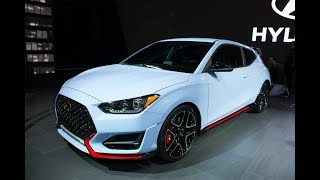 Hyundai Unveils All-New Veloster and Veloster N at 2018 CIAS thumbnail