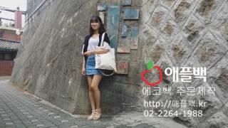 에코백 (쇼핑몰 대박싸, 가방공장 애플백에서 제작)