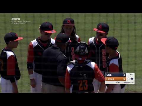 LLWS REGIONALS - St  George Utah vs  Hilo Hawaii West Regional