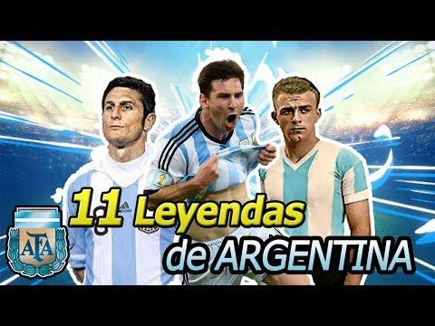 11 Jugadores Históricos De La Selección De Argentina
