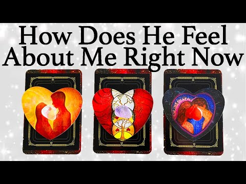 💕WHAT DOES HE/SHE THINK AND FEEL ABOUT ME RIGHT NOW?💕  🔮Pick A Card🔮   Love Tarot Reading (Timeless)