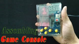 Assembling - DIY Game Console with DIY Kit