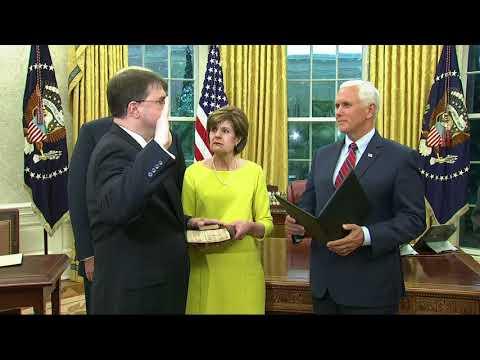 Wilkie Sworn In As Veterans Affairs Secretary