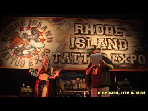 Best Tattoo Convention Ever - RITE 2013 Rhode Island Tattoo Convention - Full Recap by FXtras