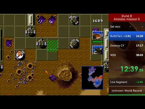 Dune 2 (Sega) IL Speedrun - Atreides Mission 9 (27:54.89)