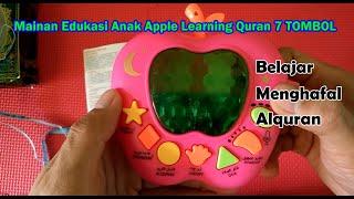 Gambar cover Unboxing Mainan Edukasi Anak Apple Learning Quran 7 TOMBOL
