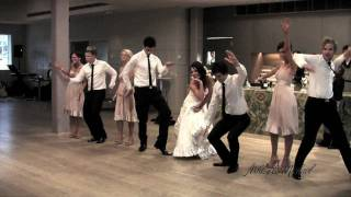 Surprise Bridal Party Wedding Dance » 'Can You Feel It'