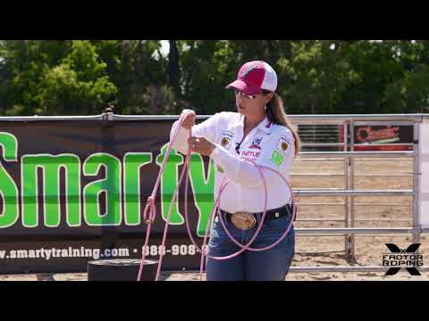Breakaway Roping Building the Perfect Breakaway Loop with Jackie Crawford