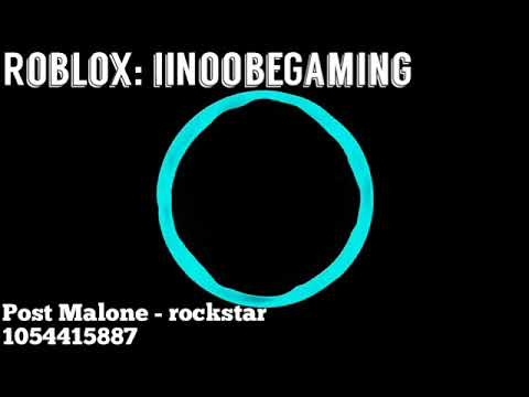 Roblox Music ID: Post Malone - rockstar *Clean Edit*