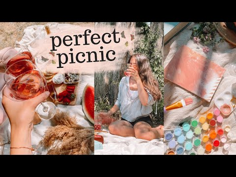 how to have a perfect picnic! girls day ideas!
